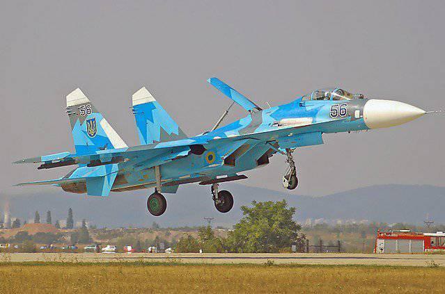 再看一下。 MiG-29和Su-27为Bandera服务