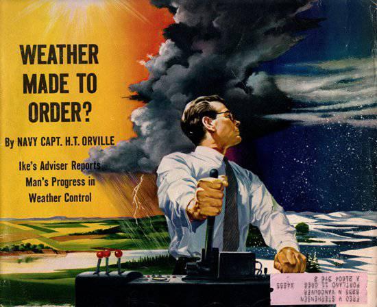 मौसम का प्रबंधन सैन्य श्रेष्ठता की कुंजी है