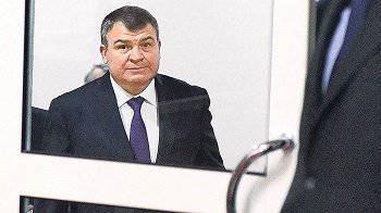 Das Büro des Militäranklägers hat sich für den Fall von Anatoly Serdyukov interessiert