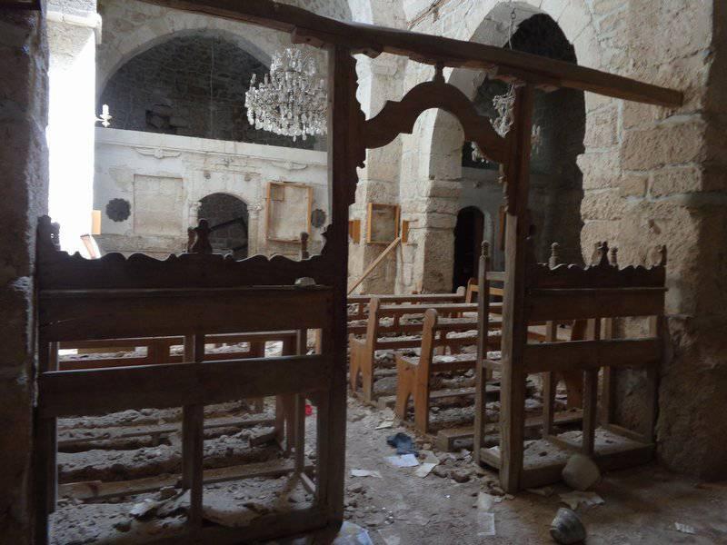 В оскверненных святилищах