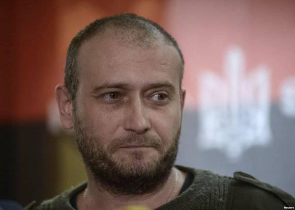 Dmitry Yarosh performs aria of a political eunuch
