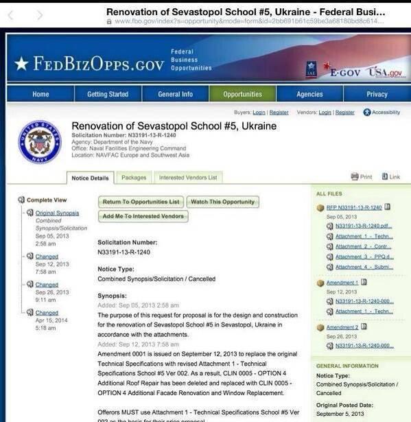 为什么美国海军要修理塞瓦斯托波尔的学校?