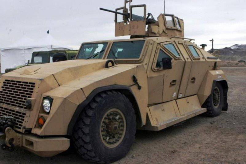 Modern and advanced US armored vehicles