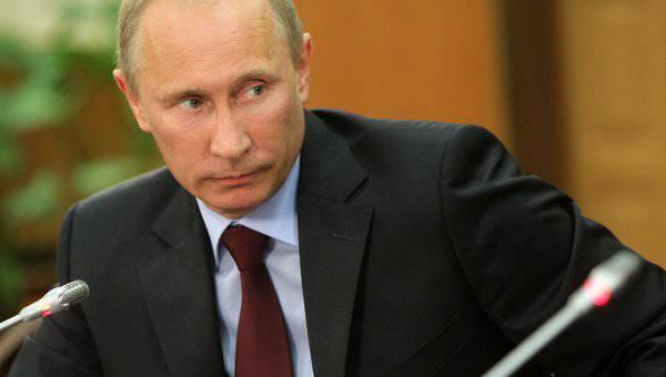 """El presidente Vladimir Putin ha encontrado la definición de """"poder"""" de Kiev"""