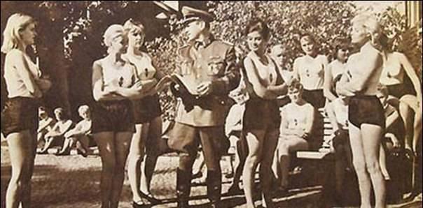 Немецкие солдаты секс