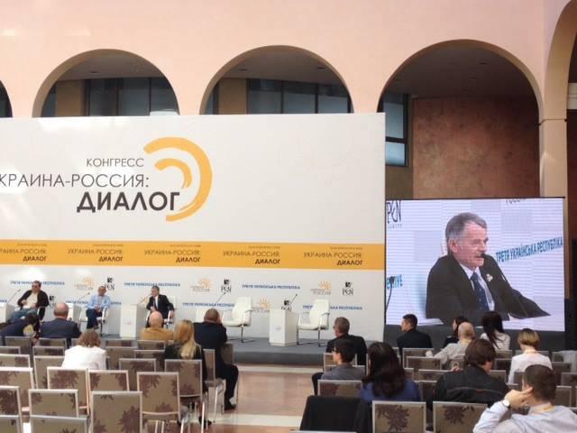 """霍多尔科夫斯基国会在基辅。 哲米列夫跻身""""最杰出"""""""