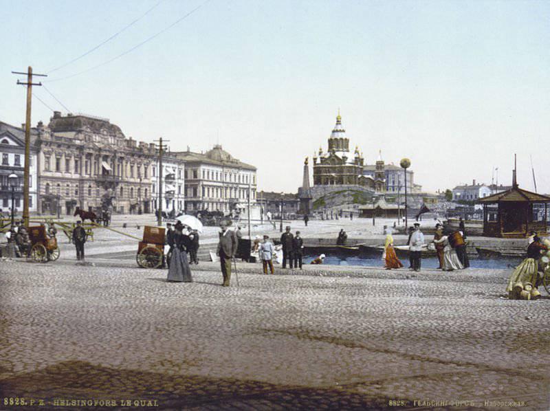 La Finlandia in alleanza con il Kaiser Germania contro la Russia