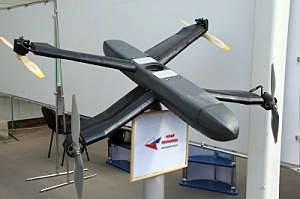 En Rusia, están probando el rotor de reconocimiento con el UAV Era-50