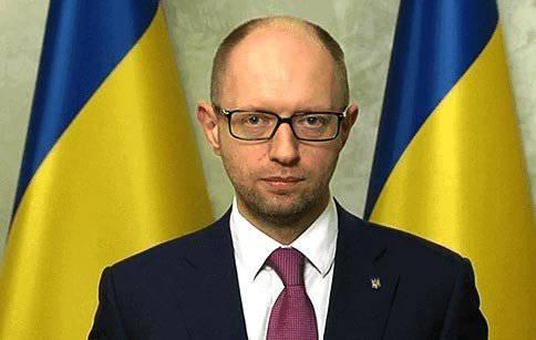 What gas breathes Yatsenyuk?