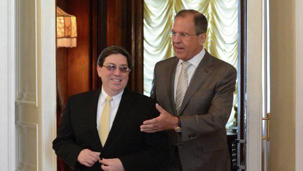 Lavrov Küba'ya bir gezi için hazırlanıyor