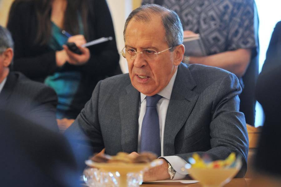 Сергей лавров американские санкции