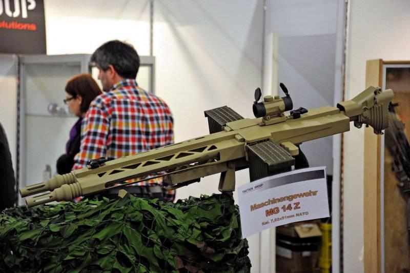 Двуствольный пулемет Tactics Group MG-14z