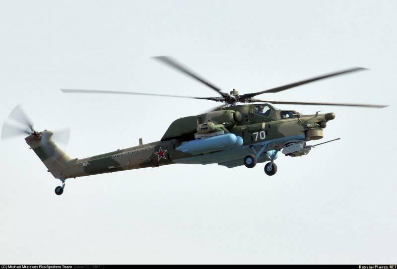 Новые Ми-26 и Ми-28Н - теперь в камуфляже