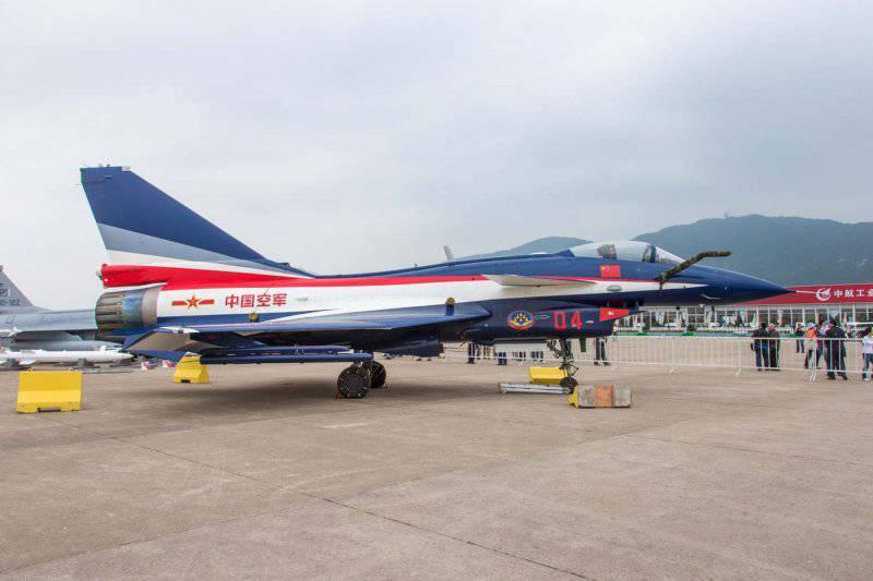 Китайский многоцелевой истребитель Chengdu J-10