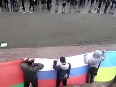 В Харькове столкнулись сторонники и противники федерализации