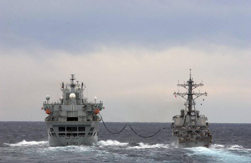 Черноморское приключение эсминца ВМС США