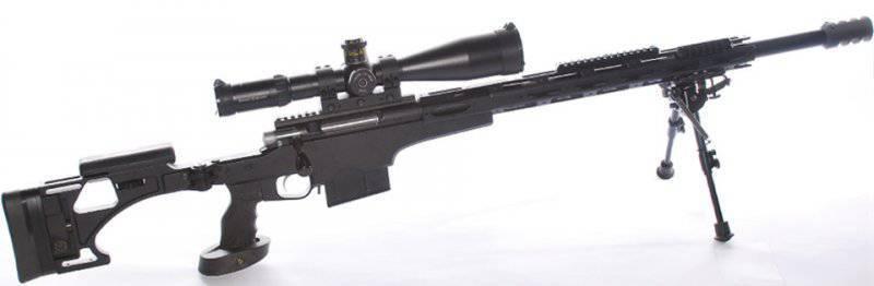 Украинские снайперские винтовки нового поколения VPR.308Win и VPR.338LM
