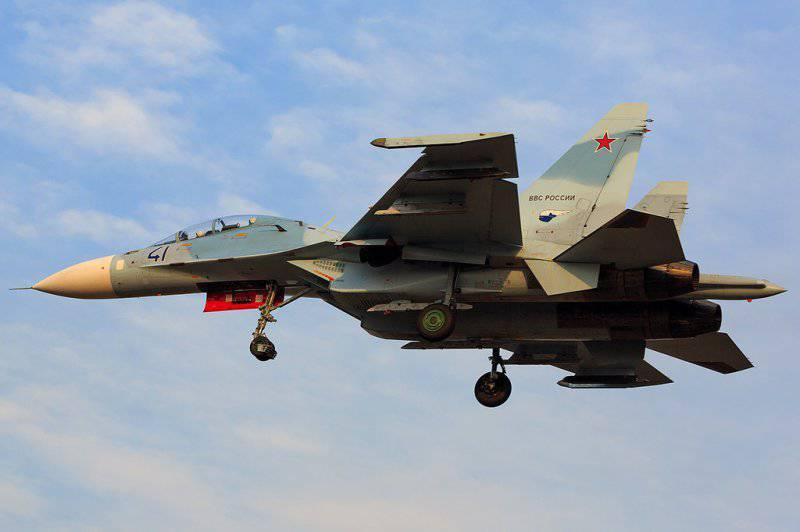 Новые фото Су-30М2 и Су-30СМ