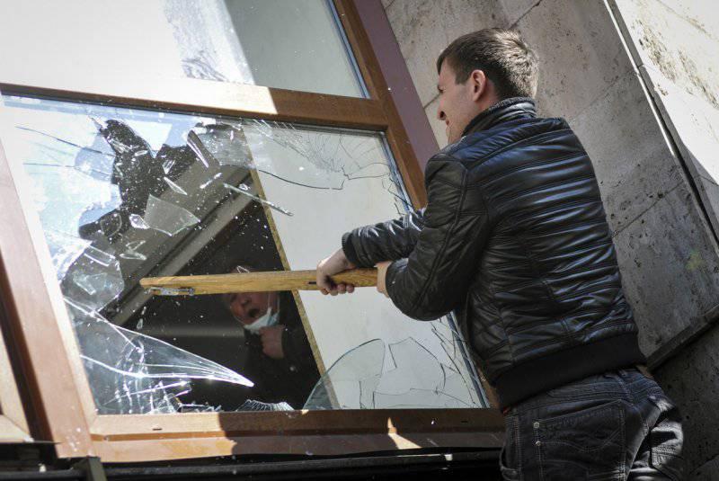 Протесты на востоке Украины
