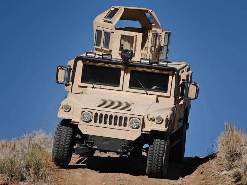 Современные и перспективные бронированные машины США
