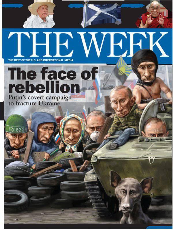 Итоги недели. «Achtung! Achtung! Die russischen Panzerkampfwagen marschieren nach Kiew!»