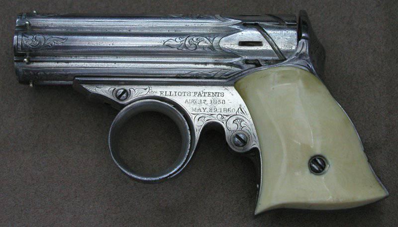 Пеппербокс Ремингтона Зиг-Заг Дерринджер (Remington Zig-Zag Derringer)