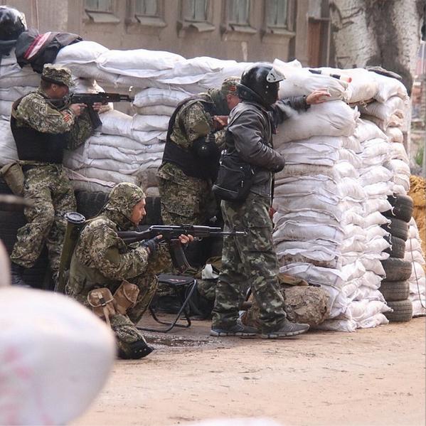 スラビャンスクでの懲罰的な操作