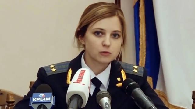 Putin appointed Poklonskaya prosecutor of the Crimea