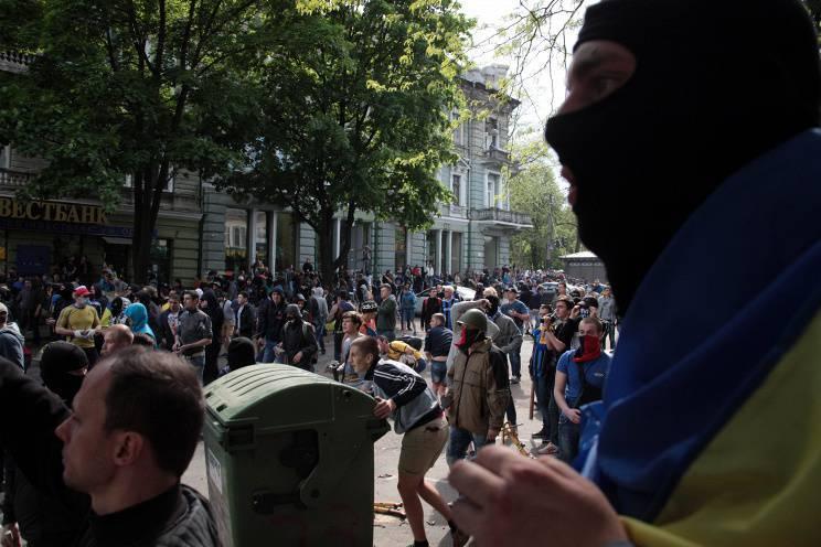 Ukrayna'nın güney-doğusundaki durum. Olayların tarihçesi. 3 Mayıs