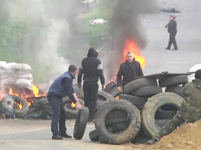 Più di 10 sono morti sotto Slavyansk
