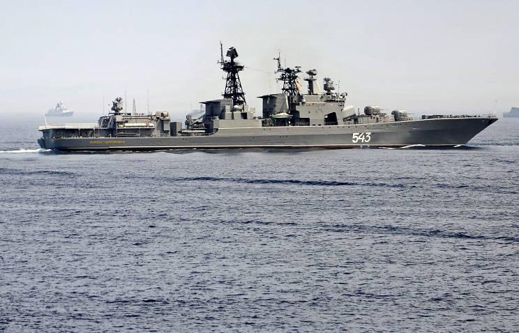 """大型反潜舰"""" Shaposhnikov元帅""""开始在亚丁湾巡逻"""