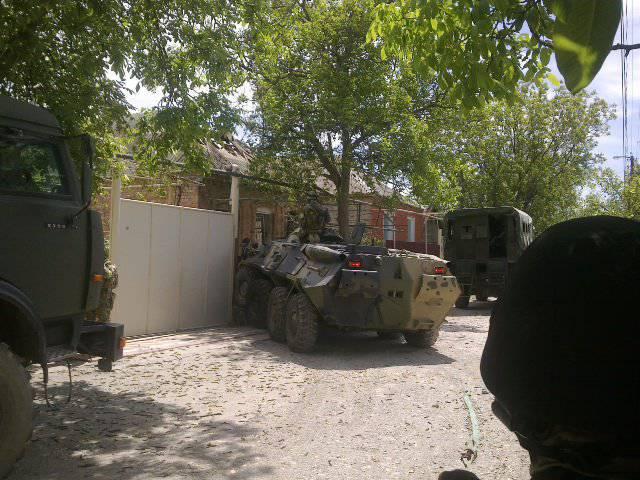 Revisão de operação especial em Khasavyurt 5 May 2014