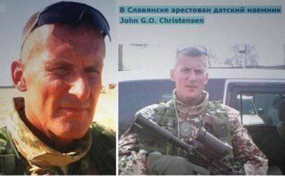 Mercenario danés asesinado en el Maidan