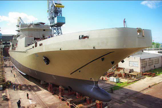 """Construcción naval BDK y fragatas en """"Yantar"""""""