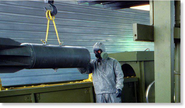 La Russie entre dans la phase finale de la destruction des armes chimiques