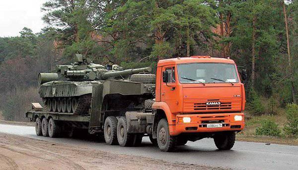 Reparadores militares na região de Amur têm à sua disposição novos tratores