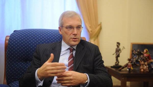 Risposte del rappresentante permanente della Russia alla NATO A. Grushko alle domande dei media russi