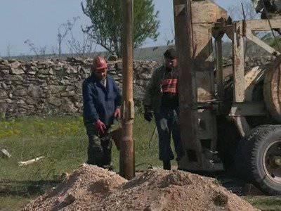 Changements avec l'approvisionnement en eau de la Crimée