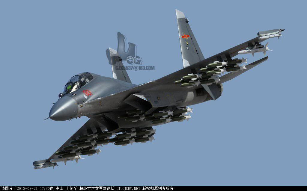 Shenyang J-16 и Су-30МКИ: соперничество истребителей ...