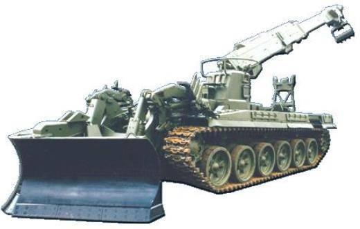 O tanque de engenharia da Kramatorsk é praticamente invulnerável