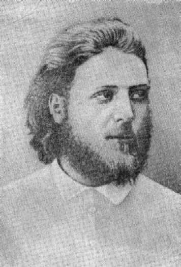 A. A. Belopolsky - ein Student (Moskau, 1876)