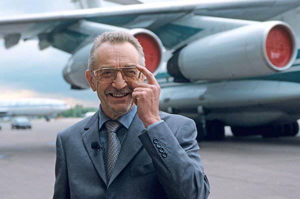 A cabeça da companhia aérea Ilyushin morreu