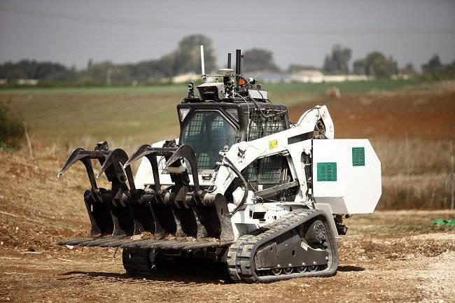 Robot Sapper pronto per l'assistenza
