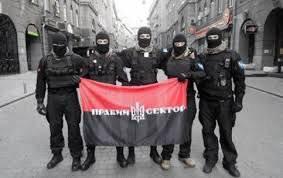 """Des militants du """"secteur de droite"""" ont été arrêtés à Lougansk"""