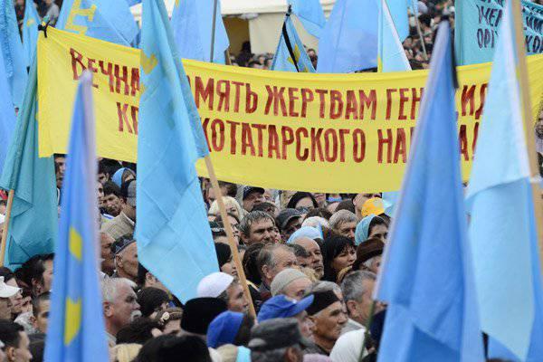 "Kırım Tatarları, Rusya'ya Karşı Büyük Oyunda ""topal yem"" olmamalı"
