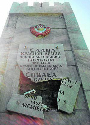रूसी विदेश मंत्रालय ने पोलैंड में सोवियत सैनिकों के मुक्तिदाताओं को स्मारक की वीरानी से नाराज कर दिया