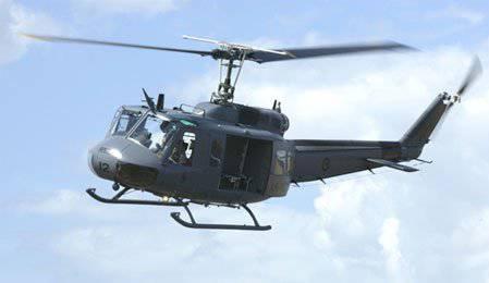 UH-1H Iroquois हेलीकॉप्टर (www.airforce.mil.nz)