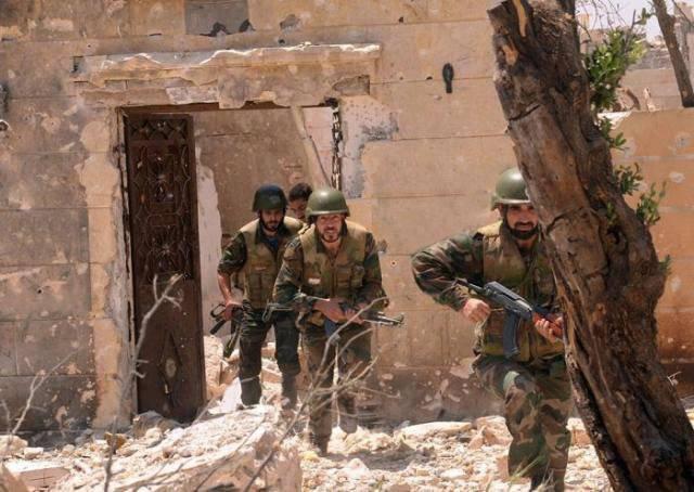 Suriye devlet ordusunun Halep'teki başarıları