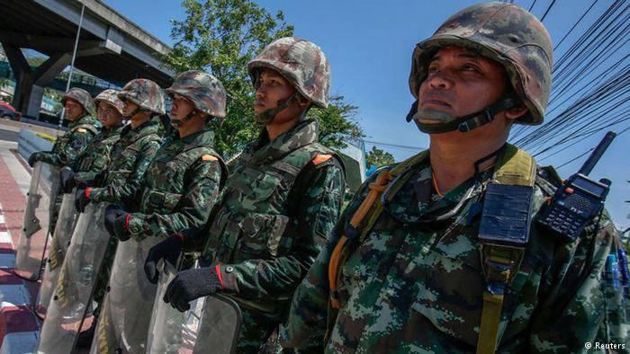 थाईलैंड में सैन्य तख्तापलट