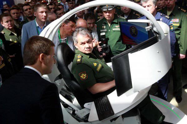 """Was hat Sergei Shoigu auf der Ausstellung """"Integrated Security-2014"""" auf sich aufmerksam gemacht?"""